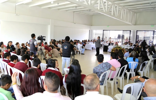 Inauguran megacolegiocon moderna infraestructura enTimbío
