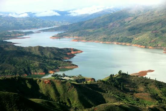 La Salvajina, Suárez, Cauca