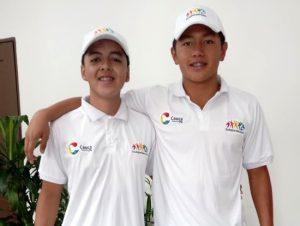 Nadadores caucanos a Hungría e Italia