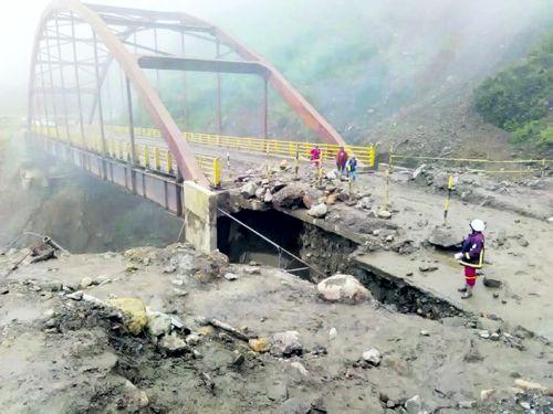 Los puentes rotos