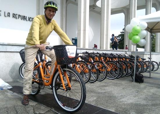 Ya ruedan las bicicletas públicas en Popayán