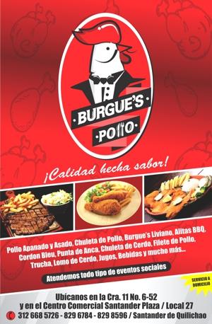 BURGUE'S POLLO - SANTANDER DE QUILICHAO