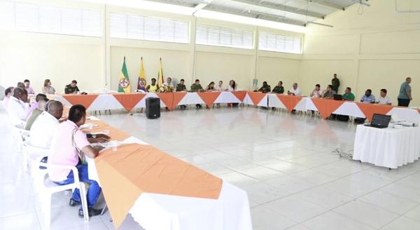 Consejo de Seguridad se realizó en el norte del Cauca
