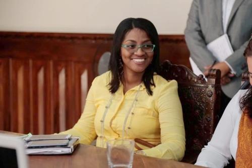 Neyla Yadira Amú Vente, jefe de la Oficina Cooperación Internacional Gobernación del Cauca