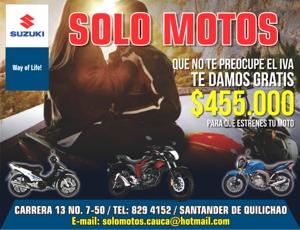 Solo Motos - Santander de Quilichao - Cauca