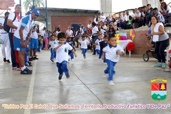 Actividad física para estar saludables en Caloto