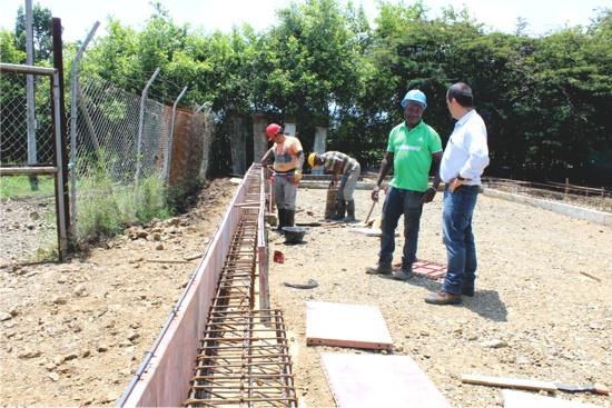 Construcción Aula Inteligente - Escuela Niña María - Caloto, Cauca