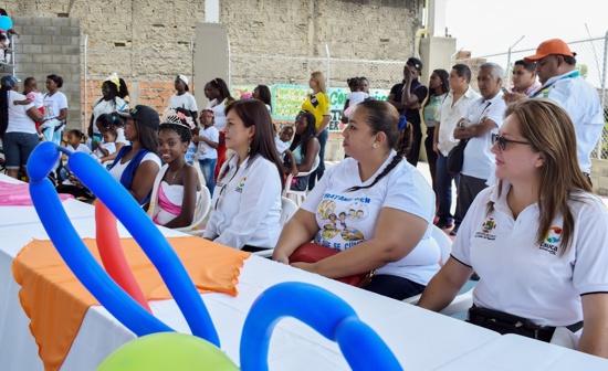 Derechos de los niños se garantizan en Guachené, Cauca.