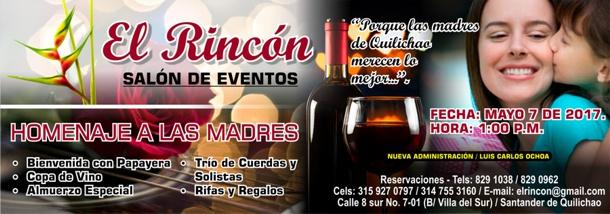 El Rincón - Salón de Eventos - Homenaje a las Madres