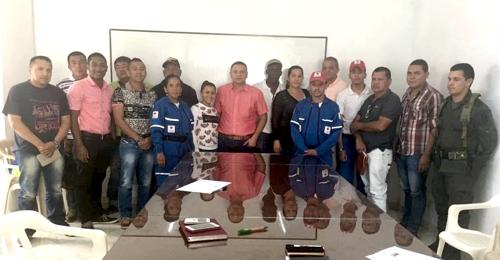 Comité Local de Emergencias del municipio de Corinto
