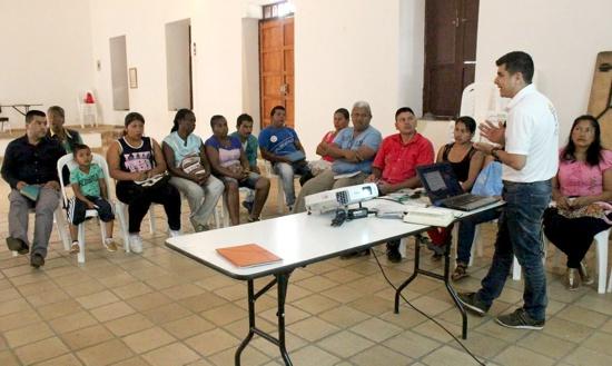 Socialización de ruta de restitución de tierras en Caloto