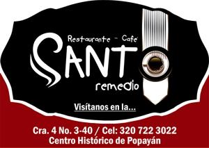 Santo Remedio - Restaurante - Café - Popayán