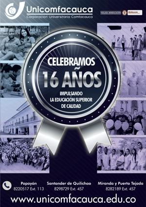 Unicomfacauca - 16 Años