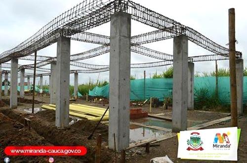 Avanza construcción de Centro Vida en Miranda, Cauca