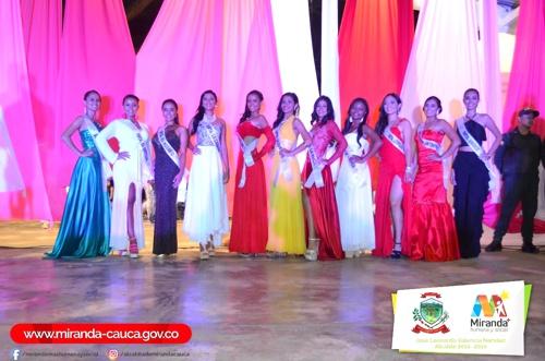 Bellas candidatas de Miranda se preparan para las Ferias 2017