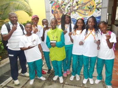 Deportistas de Villa Rica brillaron en Bogotá