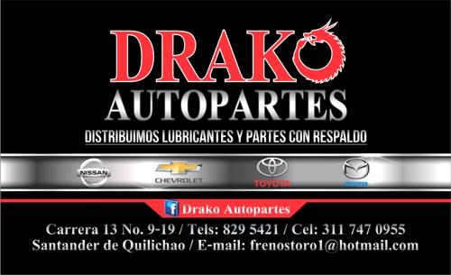Drako Autopartes - Santander de Quilichao