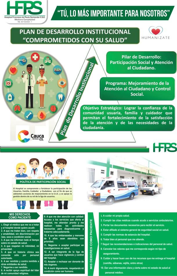 Hospital Francisco de Paula Santander - Derechos y Deberes de los Pacientes - Santander de Quilichao