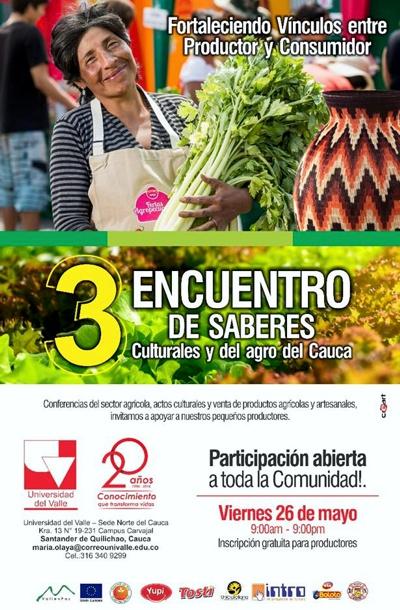 Tercer Encuentro de Saberes Culturales y del Agro del Cauca