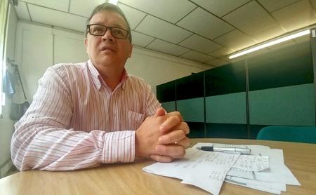 Jairo Muñoz - Área de Aseguramiento, oficina de Secretaría de Salud del Cauca.