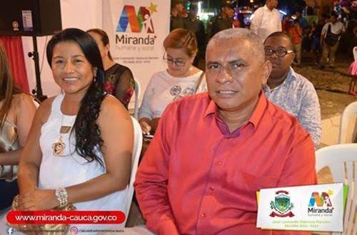 José Leonardo Valencia - Alcalde de Miranda - Cauca