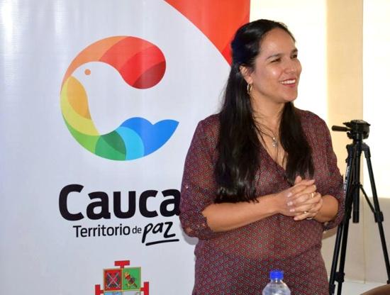 Lucy Amparo Guzmán, secretaria departamental de Salud del Cauca
