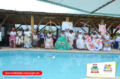 Se realizó Primer Reinado del Adulto Mayor en Miranda, Cauca