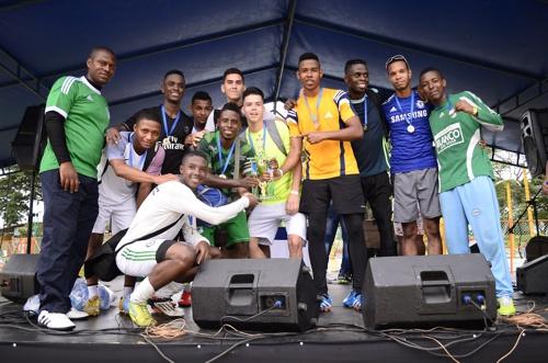 Se realizó la Copa de los Trabajadores y Fiesta del Afiliado en el Centro Recreativo La Ceiba - 1er lugar fútbol sala - Pavco