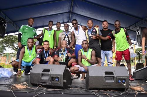 Se realizó la Copa de los Trabajadores y Fiesta del Afiliado en el Centro Recreativo La Ceiba - 2do lugar fútbol sala - Forza.
