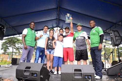 Se realizó la Copa de los Trabajadores y Fiesta del Afiliado en el Centro Recreativo La Ceiba - 1er lugar en Sapo - Emquilichao