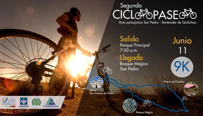 Segundo Ciclo-Paseo Ruta Paisajística San Pedro - Santander de Quilichao - 11 de Junio de 2017