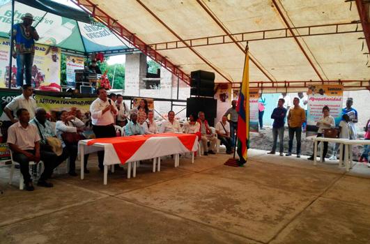 Afropatianos recibieron la visita del Gobernador del Cauca en Quilcacé