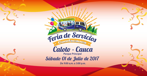 Feria de Servicios Comfacauca llega a Caloto