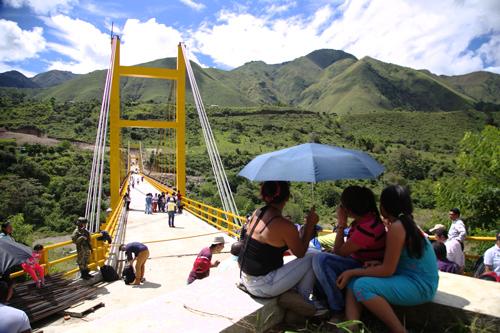 Puente Ricaurte une a Inzá y a Páez