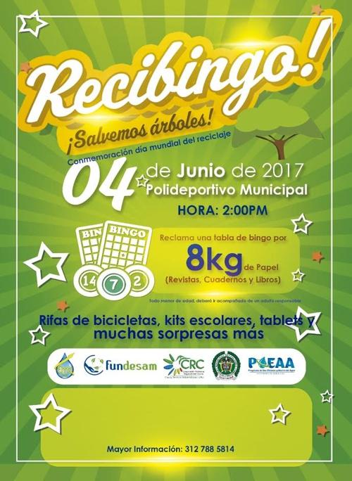 Recibingo ¡Salvemos Árboles! en Santander de Quilichao