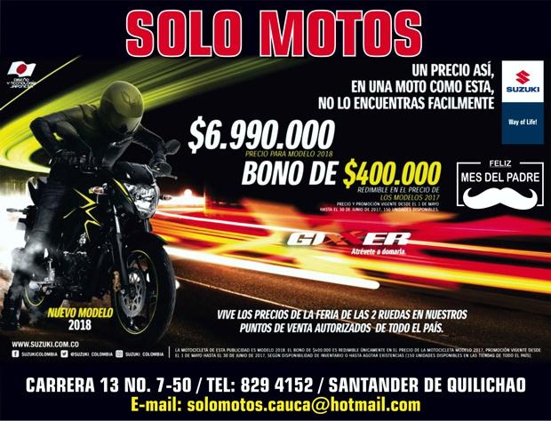 Solo Motos - Santander de Quilichao