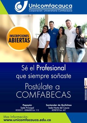 Unicomfacauca - Inscripciones Abiertas