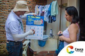 Acciones de promoción y prevención del dengue, zika y chikunguña en Santander de Quilichao