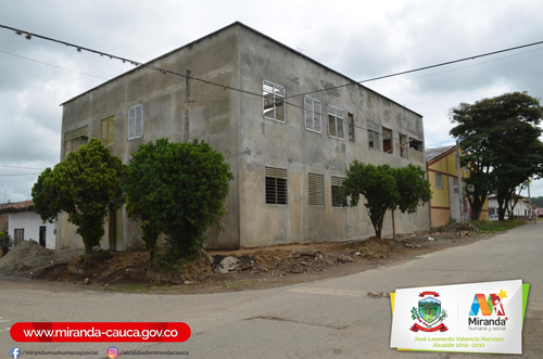 Construcción aulas de clase Institución Educativa El Rosario