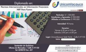 DIPLOMADO EN NORMAS INTERNACIONALES DE INFORMACIÓN FINANCIERA