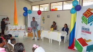 Entrega parque infantil Inzá