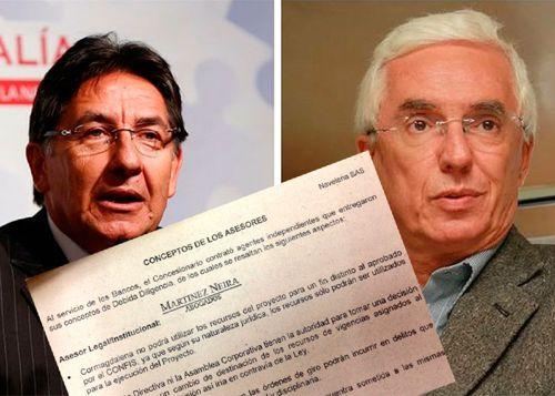 Fiscal Martínez retiró denuncia; Robledo se ratificó