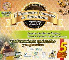 II Encuentro de Apicultores en Popayán