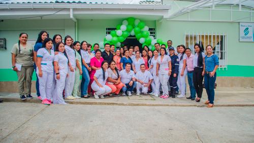 Mejoras al hospital de Sucre
