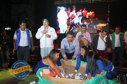 Juan Pablo Matta Casas, gerente de la ILC agradece a los asistentes