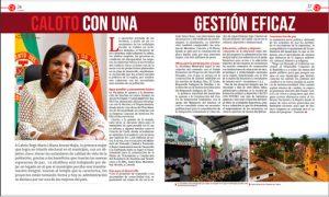 Revista El Congreso destaca gestión de alcaldesa caucana como la mejor de Colombia