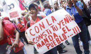 RECONOCER LOS PROBLEMAS Y RETOMAR LAS TAREAS DEMOCRÁTICAS