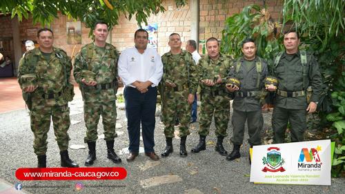 Óscar Rodrigo Campo Hurtado, gobernador del Cauca y las Fuerzas Militares y de Policía