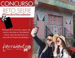 Concurso 'Reto selfie' de Tierradentro, Cauca
