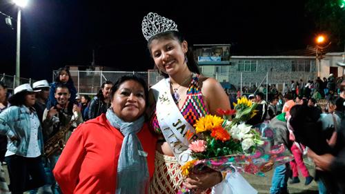 Reina de Jambaló 2017, señorita Marilyn Tejda Santacruz del Resguardo Indígena de Pitayo.
